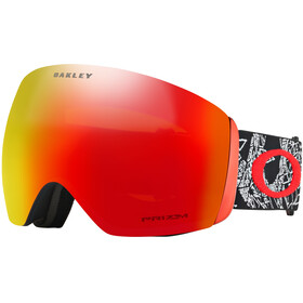 Oakley Flight Deck Goggles red/colourful